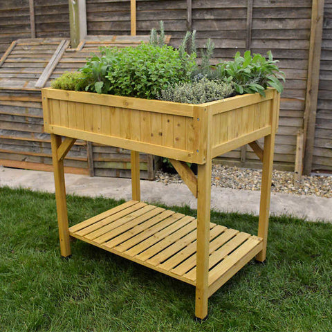 VegTrug Raised Herb Garden Bed Planter