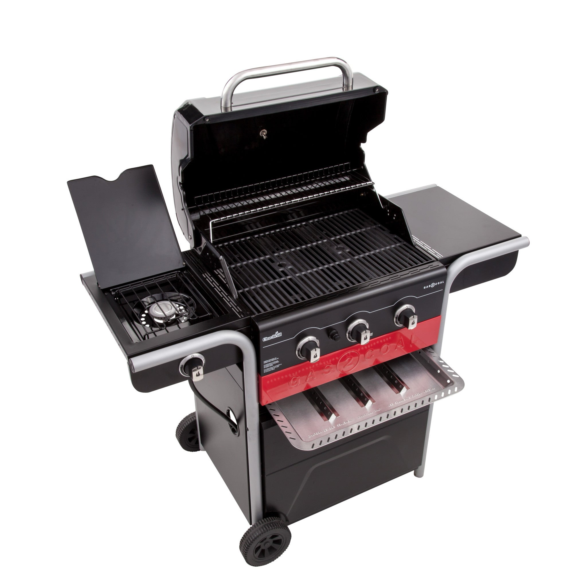 char-broil gas2coal hybrid grill – outdoor living canada