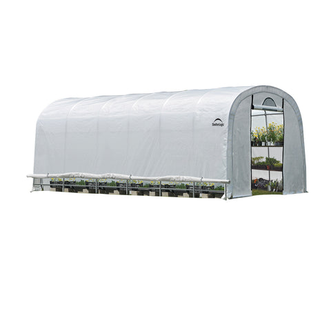 ShelterLogic Grow-IT Heavy Duty Round Greenhouse 12 ft. x 24 ft. x 8 ft.
