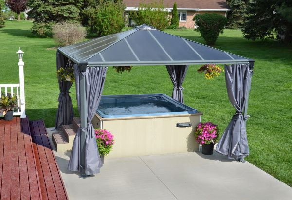 Palram Palermo Gazebo Privacy Curtains Kit
