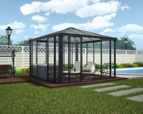 Palram Ledro 3000 Enclosed Gazebo