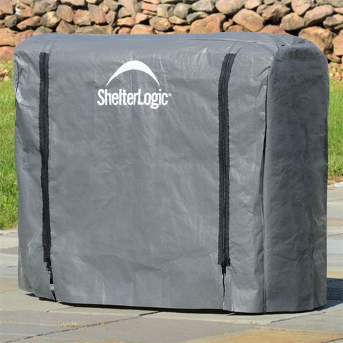 ShelterLogic Firewood Rack Cover, Full Length