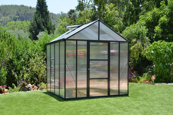 Palram Glory Heavy Duty 10mm Twin Wall 8' Greenhouse