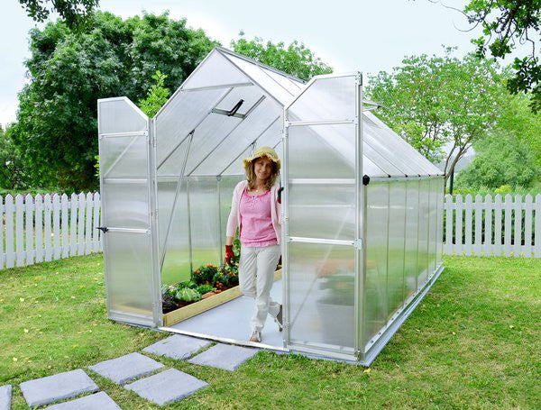Palram 8' x 12' Essence TwinWall Greenhouse