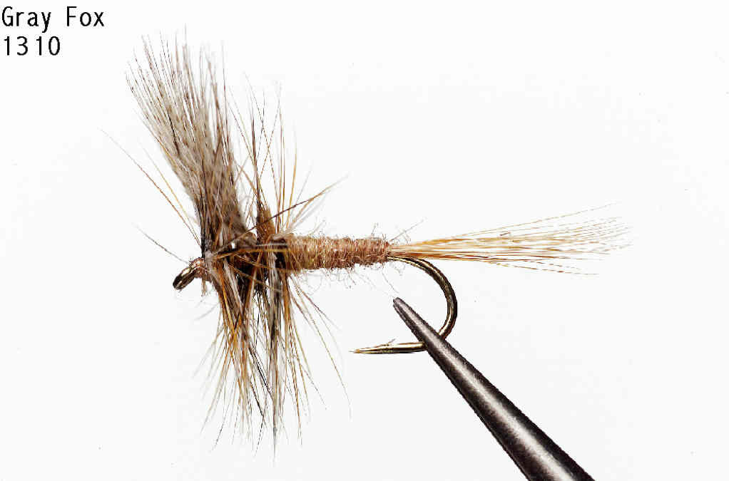 Gray Fox Dry Fly - Old Trail Tackle & Sports