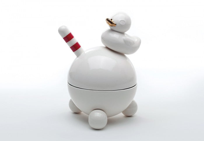 Duck on balls (base and cover) - naughty medium boxes