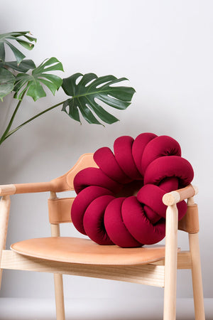 Open image in slideshow, Round Knot Pillow