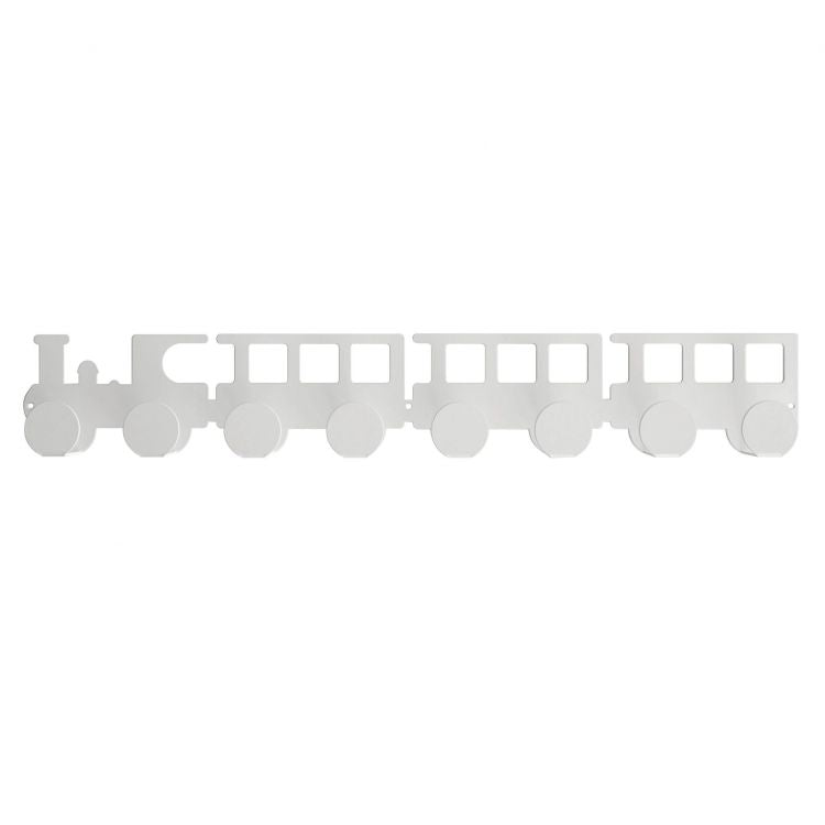 White train wall hanger