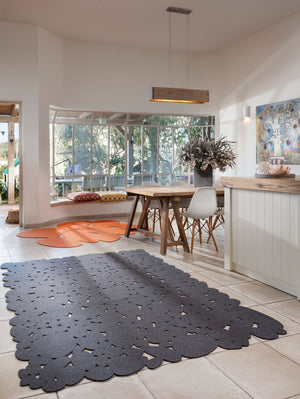 Open image in slideshow, Felted Pebbles Rug