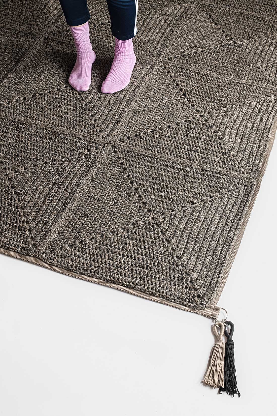 Outdoor/Indoor crochet rug