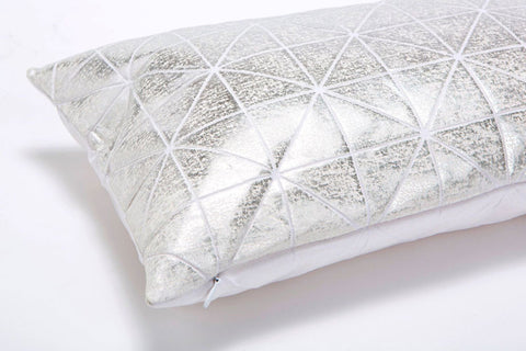Metallic Foil Pillow