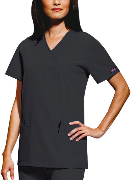 4801 - Cherokee Workwear Originals - Mock Wrap Tunic (CC)