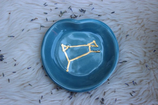 Aries Constellation Dish-GratefulGemHead