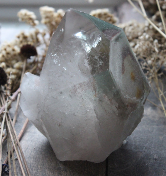 Mineral Included Quartz-GratefulGemHead