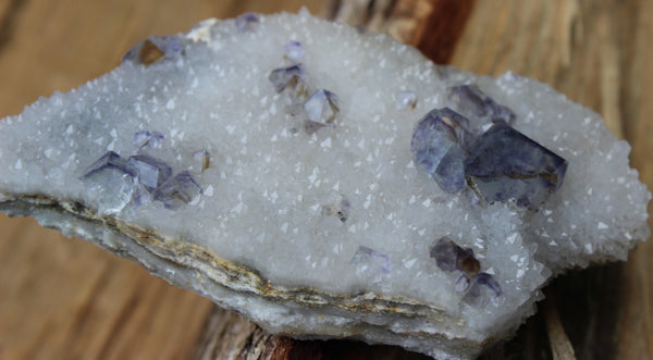 Fluorite on Quartz-GratefulGemHead