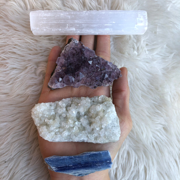 Meditation Crystal Bundle-GratefulGemHead