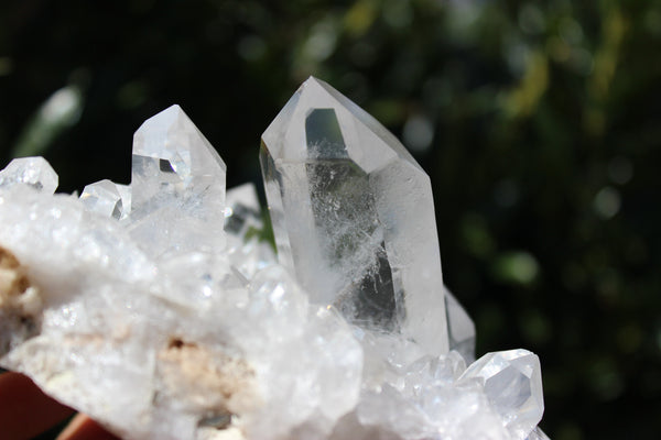 Self Standing Quartz Display Cluster-GratefulGemHead