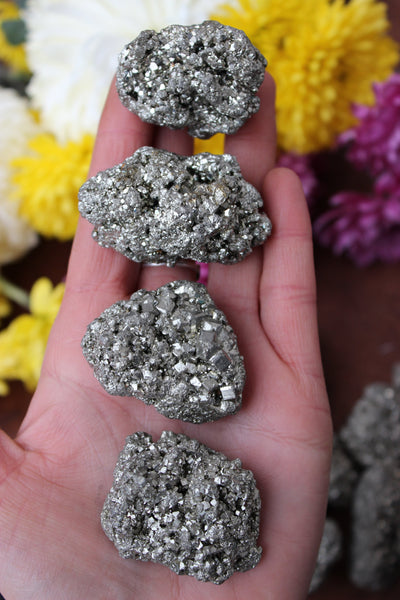 Pyrite Clusters-GratefulGemHead