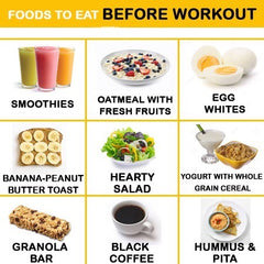 Before Workout Foods | TeddyWinston.com