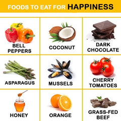 Foods For Happiness | TeddyWinston.com