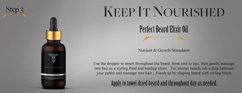 Perfect Beard Oil by Teddy Winston