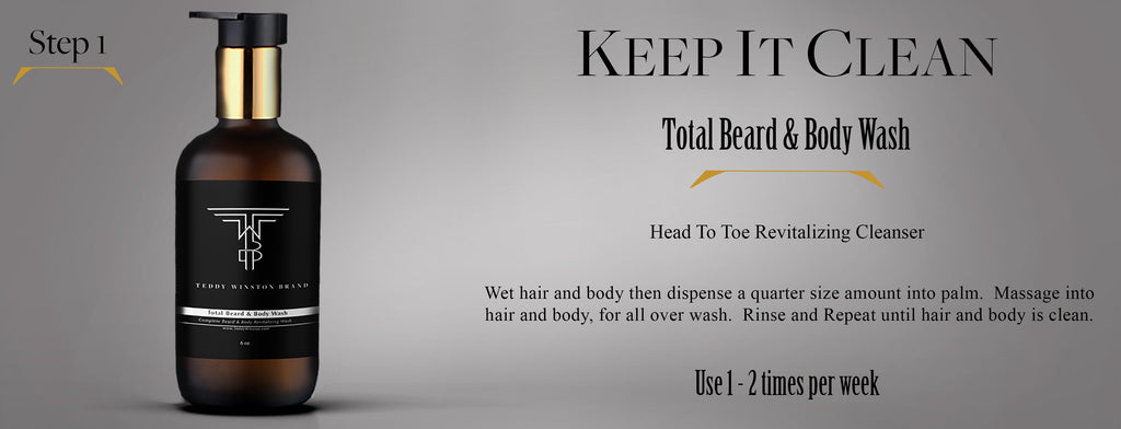 Beard & Body Wash by Teddy Winston