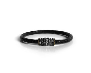 Maverick Scaled Leather Bracelet