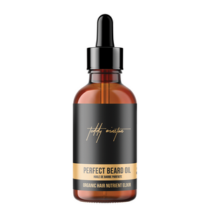 The perfect beard oil for men. An essential oil blend - super growth and shine, vital nutrients, protects against skin irritation, and all day signature fragrance.  Edit alt text