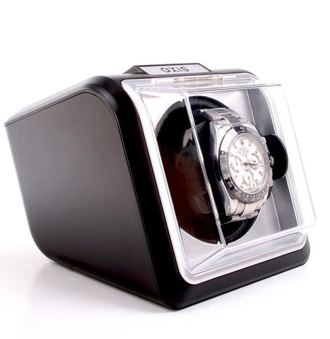AXIS® Automatic Single 1 Watch Winder NEW Turner AXKA078B Black