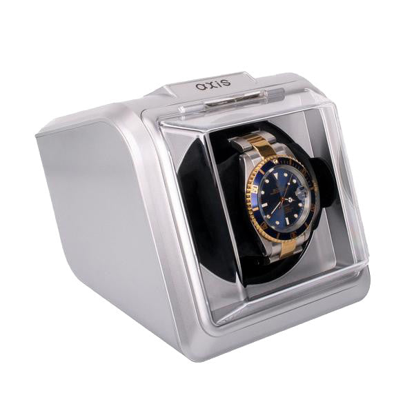 AXIS® Automatic Single 1 Watch Winder NEW Turner AXKA078S Silver