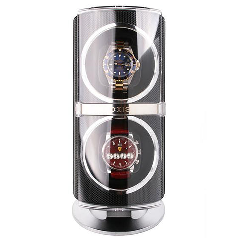 AXIS® Dual Automatic 2 Watch Winder Black AXW091B
