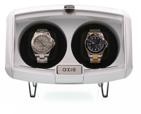 AXIS® Dual Automatic 2 Watch Winder White AXW094W
