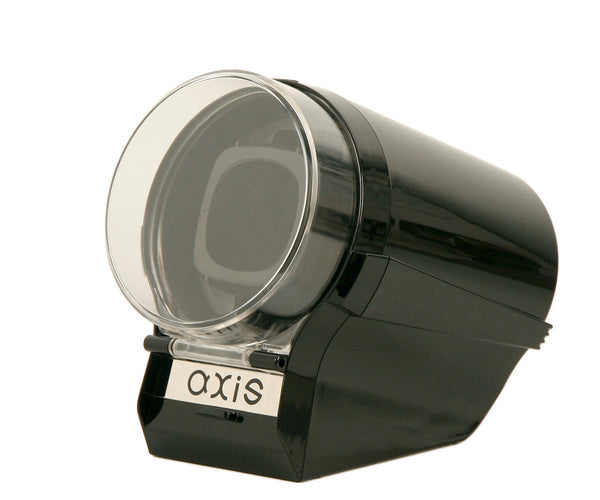 AXIS® Single Automatic 1 Watch Winder Black AXW097B New