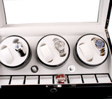 AXIS®  Luxury Automatic 6 Watch Winder New with 8 watch storage - Axis Watch Winders