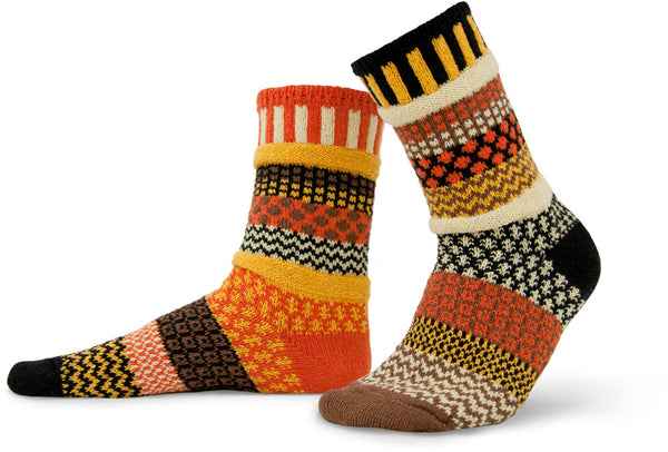 Scarecrow Adult Crew Socks