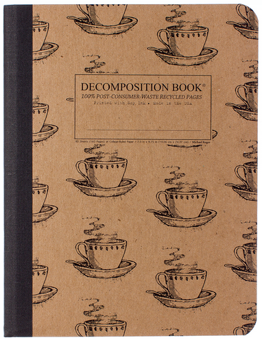 "Decomposition Notebook - ""Coffee Cup"""
