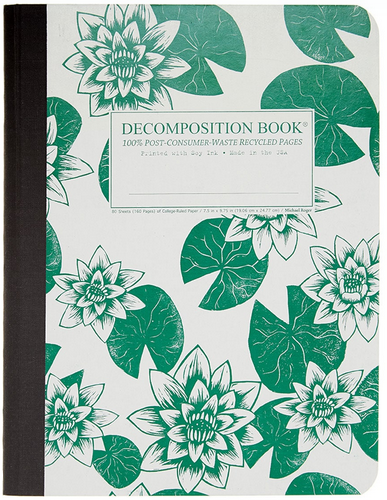"Decomposition Notebook - ""Lily Pads"""