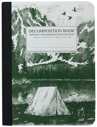 "Decomposition Notebook - ""Mountain Lake"""