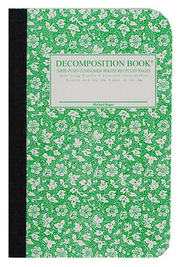 "Decomposition Pocket Notebook - ""Parsley"""
