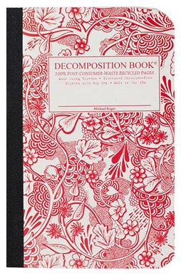 "Decomposition Pocket Notebook - ""Wild Garden"""
