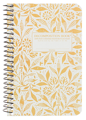 "Decomposition Coil Pocket Notebook - ""Fields of Plenty"""