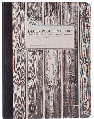 "Decomposition Notebook - ""Beachwood"""