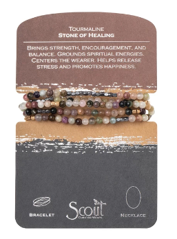Stone Wrap - Tourmaline / Stone of Healing