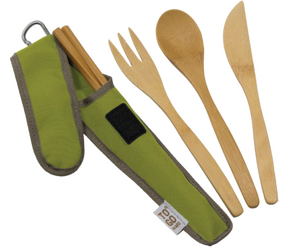 RePEaT Bamboo Utensil Set - Avocado