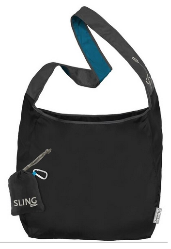 Sling rePETe Messenger Style Bag - Storm