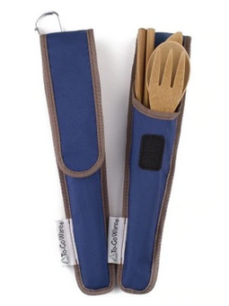 RePEaT Bamboo Utensil Set - Indigo
