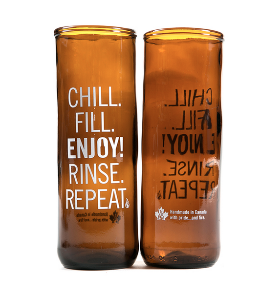 REBeer Chill/Fill Glass