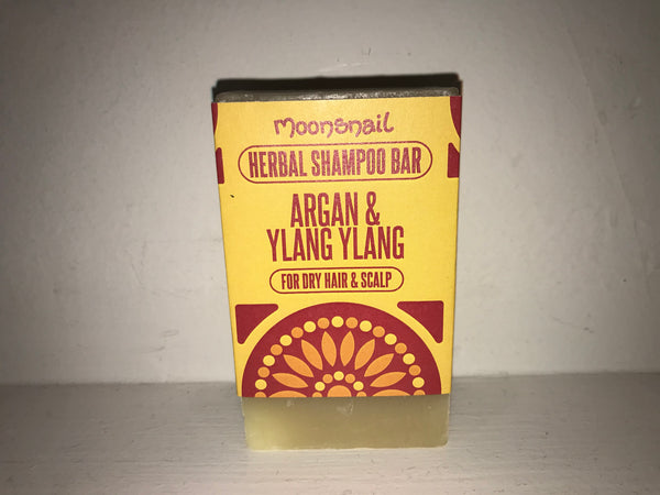 Natural Herbal Shampoo Bar - Argan & Ylang Ylang