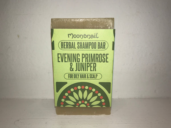Natural Herbal Shampoo Bar - Evening Primrose & Juniper