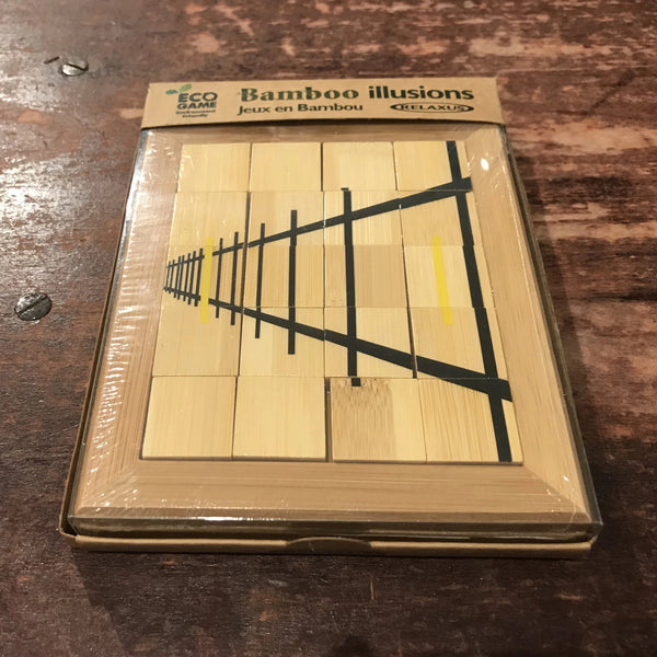 Eco Bamboo Illusions Game - Fence